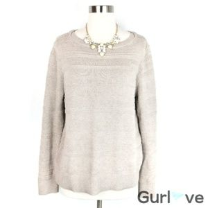 Ann Taylor LOFT Knitted Sweater Size L